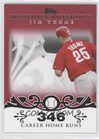 Jim Thome (2007 - 500 Career Home Runs (507 Total)) /1