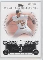 Huston Street 2005 AL ROY - 23 Saves /150