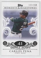 Carlos Pena (2007 MLB Superstar - 46 HRs) /150