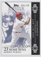 Albert Pujols 2005 NL MVP - 41 Home Runs /150