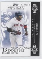 David Ortiz 2007 All-Star - 52 Doubles /150