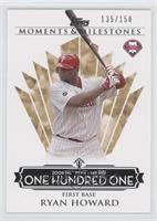 Ryan Howard (2006 NL MVP - 149 RBIs) /150