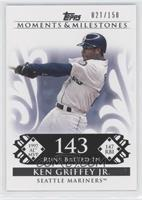 Ken Griffey Jr. 1997 AL MVP - 147 RBI /150