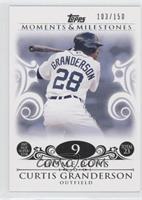 Curtis Granderson (2007 MLB Superstar - 23 HRs) /150