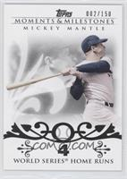 Mickey Mantle 18 World Series Home Runs /150
