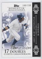 Curtis Granderson (2007 MLB Superstar - 38 Doubles) /150