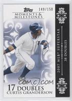 Curtis Granderson 2007 MLB Superstar - 38 Doubles /150