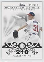 Greg Maddux (Career Milestone - 300 Wins (347 Total)) /150