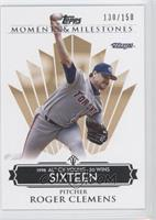 Roger Clemens 1998 AL Cy Young - 20 Wins /150