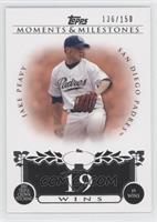 Jake Peavy (2007 Triple Crown Pitching - 19 Wins) /150