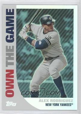 2008 Topps Own the Game #OTG1 - Alex Rodriguez