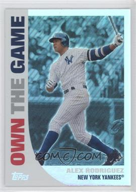 2008 Topps Own the Game #OTG11 - Alex Rodriguez