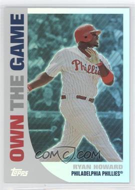 2008 Topps Own the Game #OTG14 - Ryan Howard