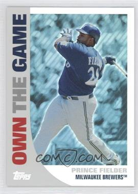 2008 Topps Own the Game #OTG19 - Prince Fielder