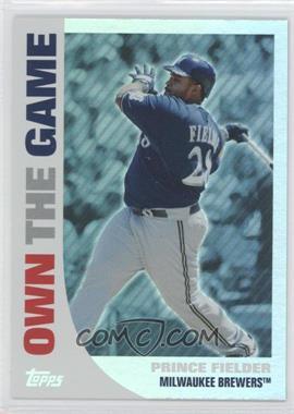 2008 Topps Own the Game #OTG19 - Prince Fielder