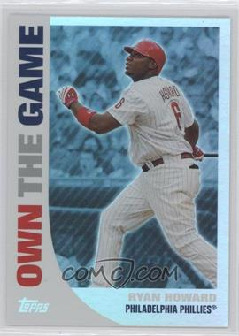 2008 Topps Own the Game #OTG3 - Ryan Howard