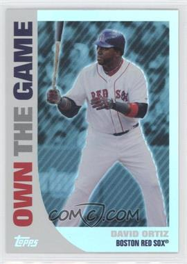 2008 Topps Own the Game #OTG7 - David Ortiz