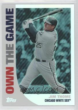2008 Topps Own the Game #OTG8 - Jim Thome