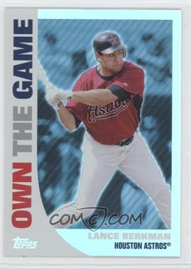 2008 Topps Own the Game #OTG9 - Lance Berkman