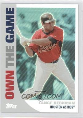 2008 Topps Own the Game #OTG9 - Lance Berkman
