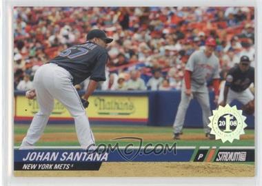 2008 Topps Stadium Club - [Base] - First Day Issue #76 - Johan Santana /599
