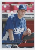Clayton Kershaw (In Dugout)