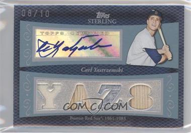 2008 Topps Sterling - [???] #N/A - Carl Yastrzemski /10