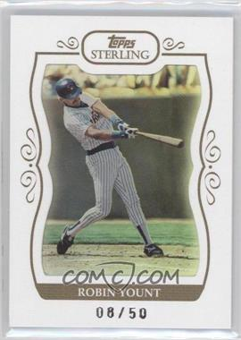 2008 Topps Sterling - [Base] - White Frame #224 - Robin Yount /50