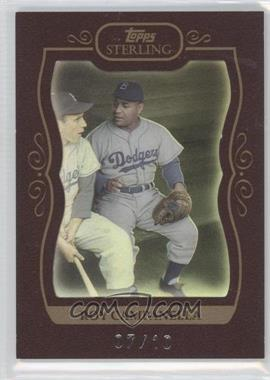2008 Topps Sterling [???] #1 - Roy Campanella /10