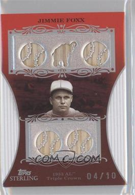 2008 Topps Sterling [???] #12 - Jimmie Foxx /10