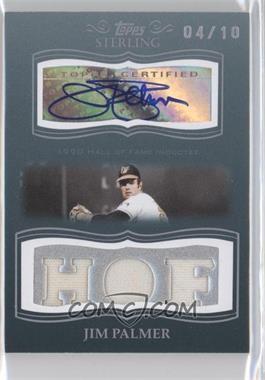 2008 Topps Sterling [???] #3SSA-89 - Jim Palmer /10