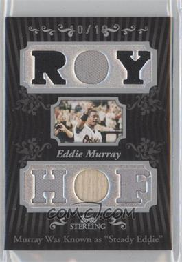 2008 Topps Sterling Career Stats Relics Sixes #6SS-36 - Eddie Murray /10