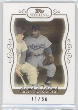 2008 Topps Sterling White Frame #187 - Roy Campanella /50