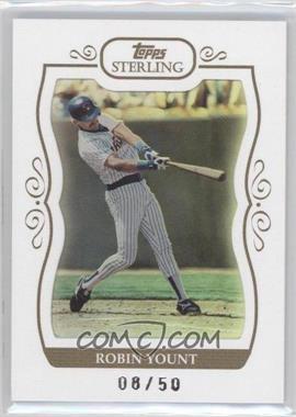 2008 Topps Sterling White Frame #224 - Robin Yount /50