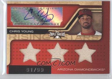 2008 Topps Triple Threads - [Base] #195.1 - Chris Young /99