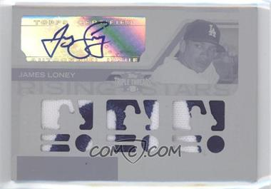 2008 Topps Triple Threads Printing Plate White Whale #200 - James Loney /1