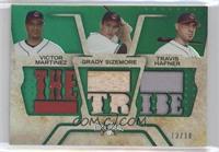 Victor Martinez, Grady Sizemore, Travis Hafner /18