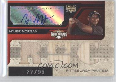 2008 Topps Triple Threads #154.1 - Nyjer Morgan /99