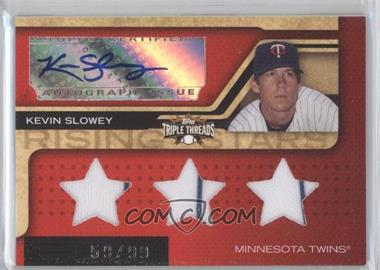 2008 Topps Triple Threads #201 - Kevin Slowey /99