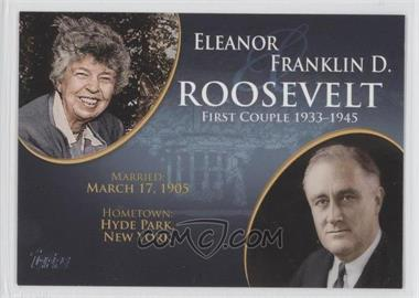 2008 Topps Updates & Highlights - First Couples #FC-30 - Eleanor and Franklin D. Roosevelt
