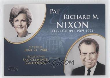 2008 Topps Updates & Highlights - First Couples #FC-35 - Pat and Richard M. Nixon
