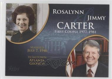 2008 Topps Updates & Highlights - First Couples #FC-37 - Rosalynn and Jimmy Carter