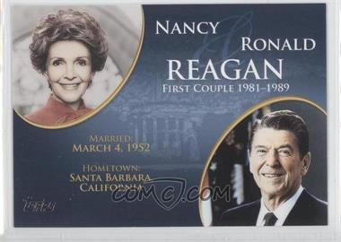 2008 Topps Updates & Highlights - First Couples #FC-38 - Nancy and Ronald Reagan