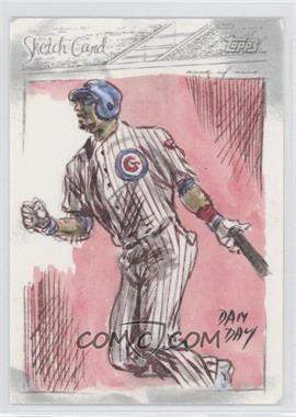 2008 Topps Updates & Highlights - Sketch Cards #N/A - [Missing] /1