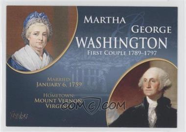 2008 Topps Updates & Highlights [???] #FC-1 - Martha and George Washington