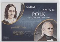 Sarah and James K. Polk