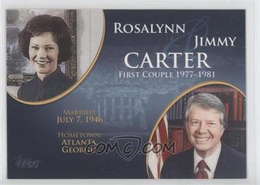 2008 Topps Updates & Highlights [???] #FC-37 - Rosalynn and Jimmy Carter