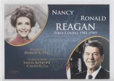 2008 Topps Updates & Highlights [???] #FC-38 - Nancy and Ronald Reagan