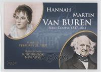 Hannah and Martin Van Buren