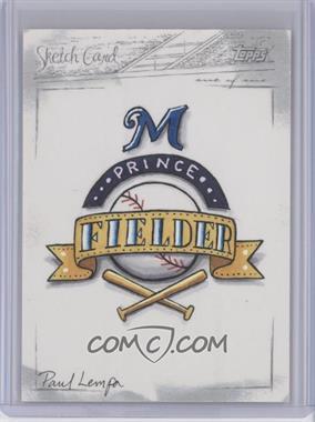 2008 Topps Updates & Highlights [???] #N/A - Prince Fielder /1